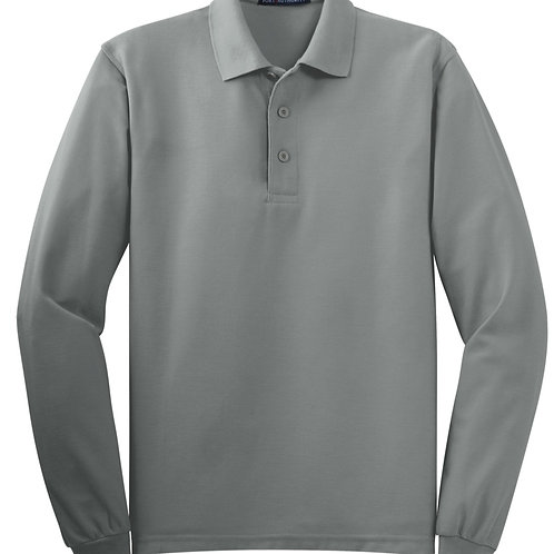K500ls Port Authority Silk Touch Long Sleeve Polo Shirts