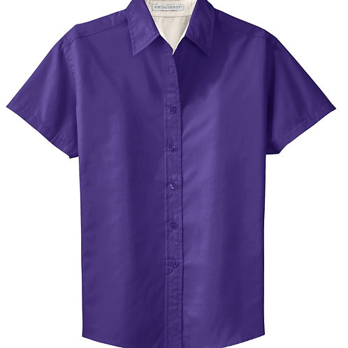 S508 Port Authority Easy Care Short Sleeve Button Down Shirt