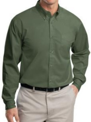 S608 Port Authority Easy Care Long Sleeve Button Down Shirt