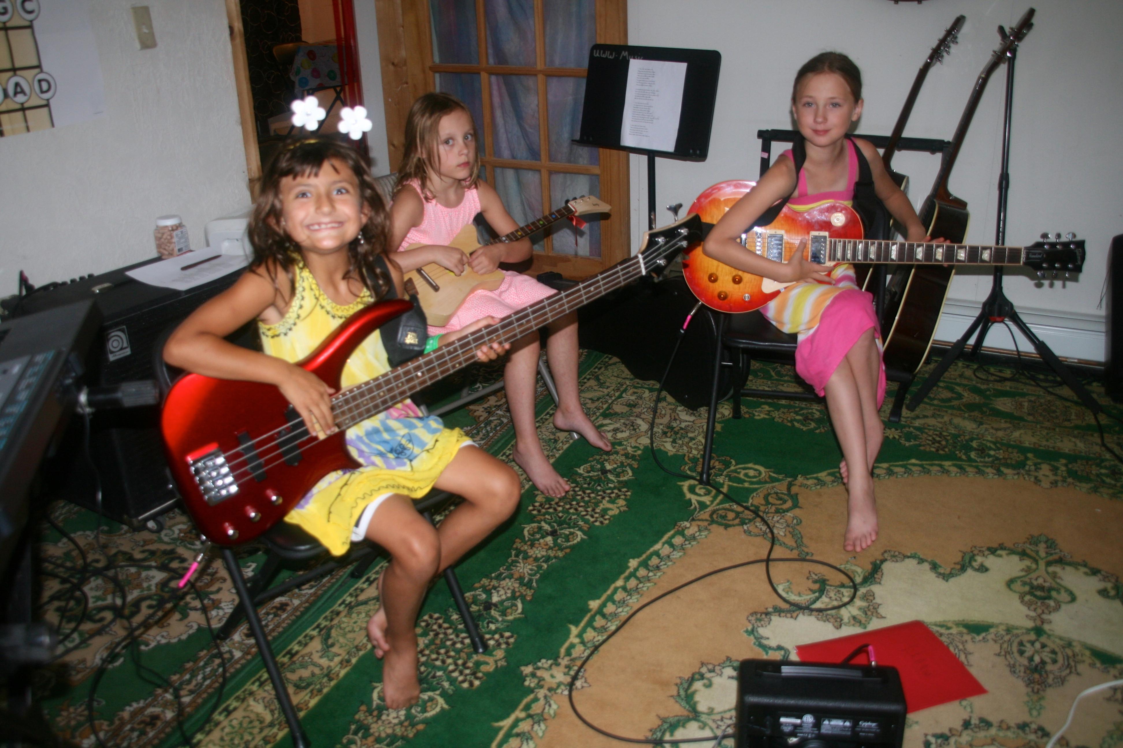 Sunday Music class. 7-11 years old