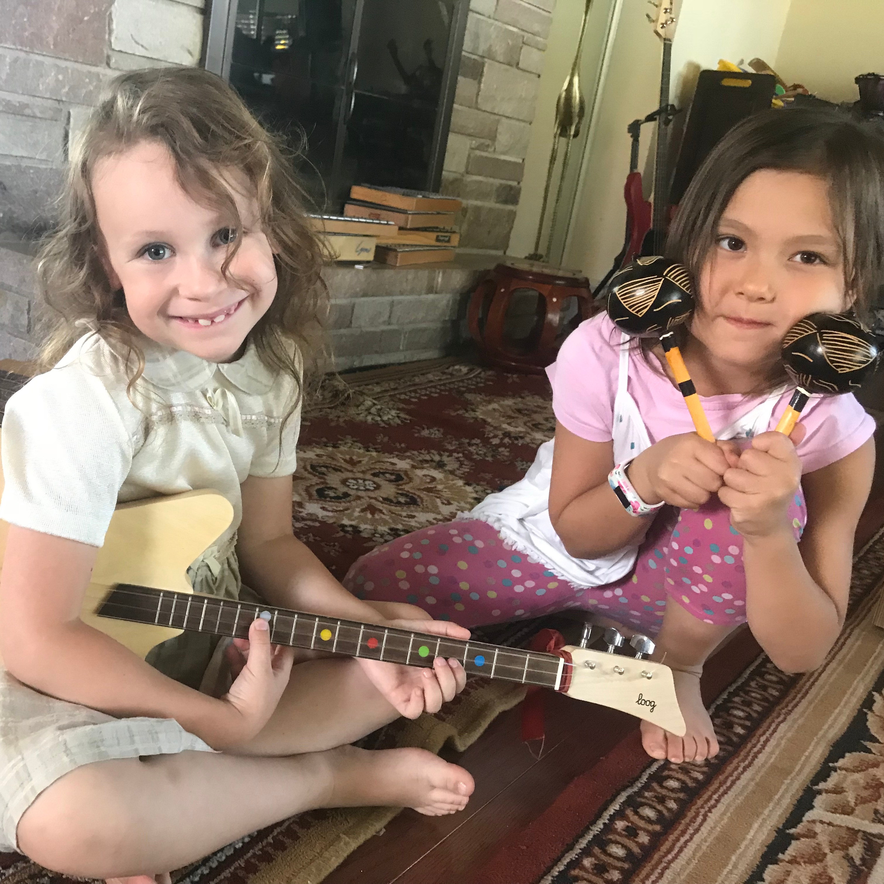 Thursday Music class. 6-8 years old