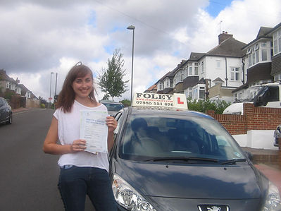 emily from west wickham driving