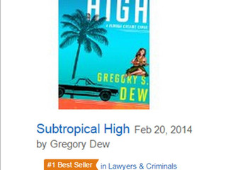 SUBTROPICAL HIGH hits Amazon #1 Bestseller List