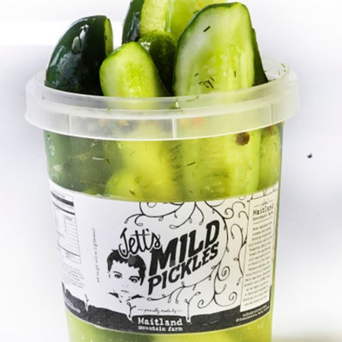 Maitland Farm Jett's Mild Pickle Spears