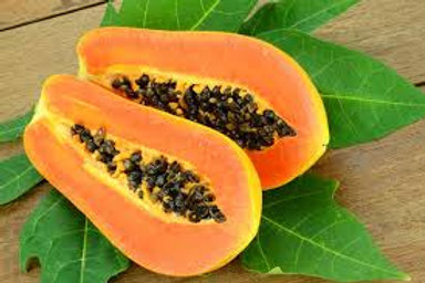 Papaya, each