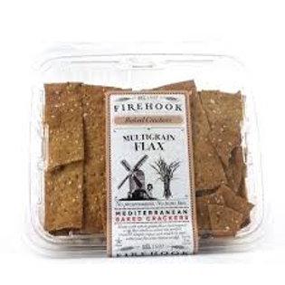Firehook Crackers, Multigrain and Flax 8oz