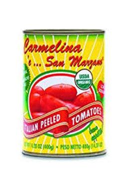 San Marzazno Organic Whole Peeled Tomatoes