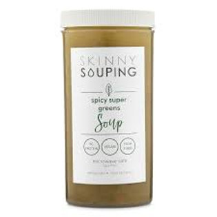 Spicy Super Greens Soup