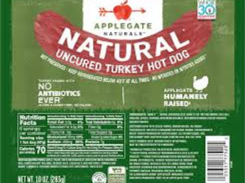 Applegate Natural Turkey Hot Dogs