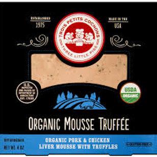 Three Little Pigs Organic Mousse Truffee