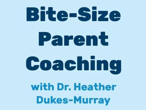 Bite-Size Parent Coaching Session 1: Functional Behavior Assessment & ABC's of Behavior for Parents