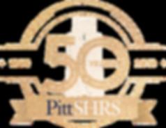 Pitt SHRS 50th Anniversry Logo