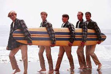 Beach Boys w/ Surf Board