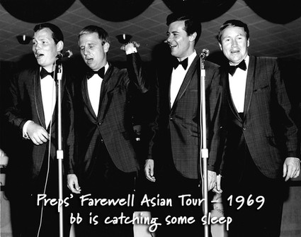 Preps' Farewell Asian Tour - 1969