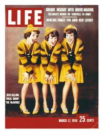 Life Mag. McGuire Sisters-It shoulda bee