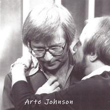 Bruce with Arte Johnson