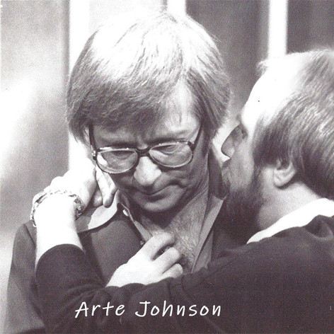 Bruce with Arte Johnson