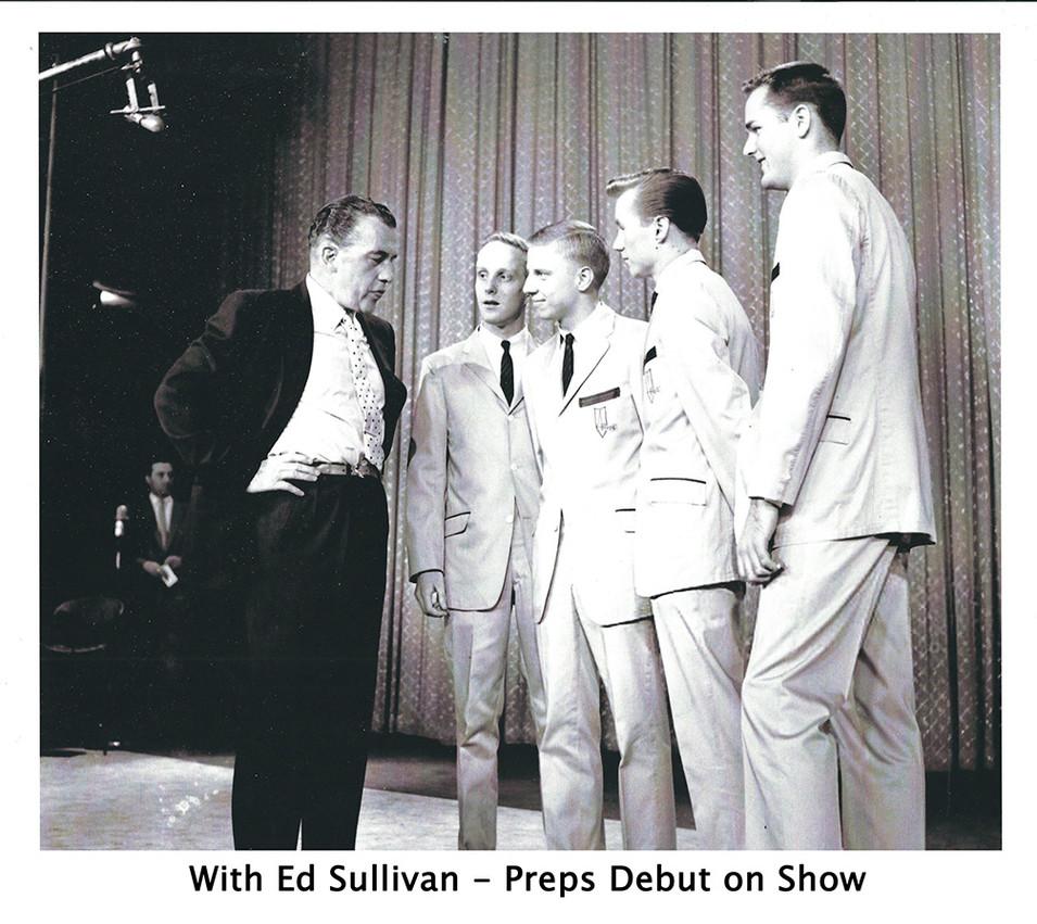 Ed Sullivan with Preps