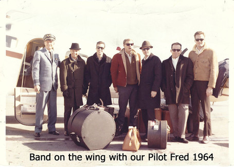 Band on the Wing with Pilot Fred 1964