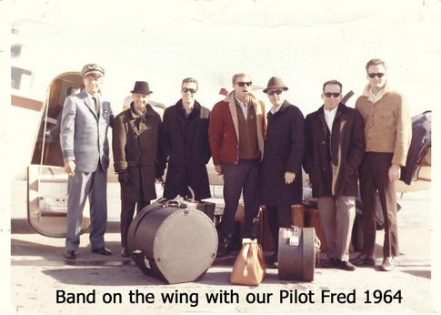 Band on the Wing with our Pilot Fred 196