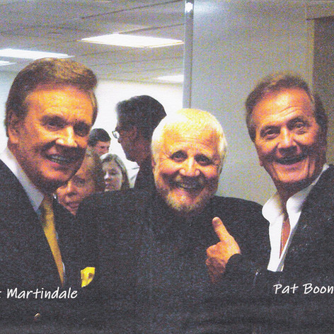 Bruce with Wink Martindale and Pat Boone