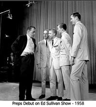 With Ed Sullivan - 1958