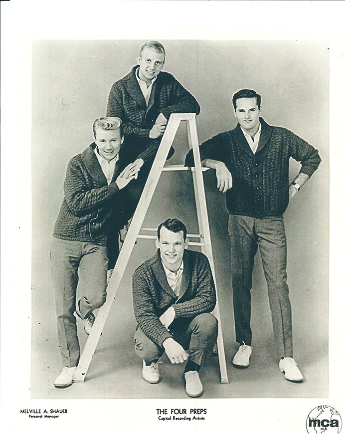 Four Preps Ladder Shot