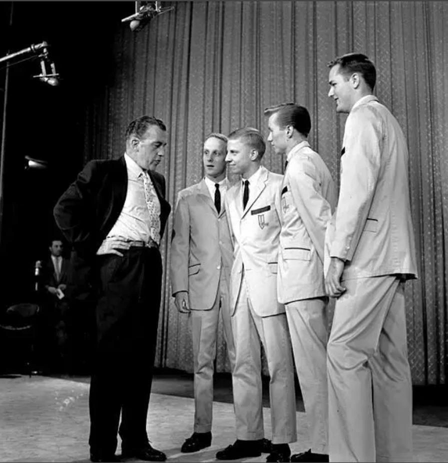 Ed Sullivan with the Preps