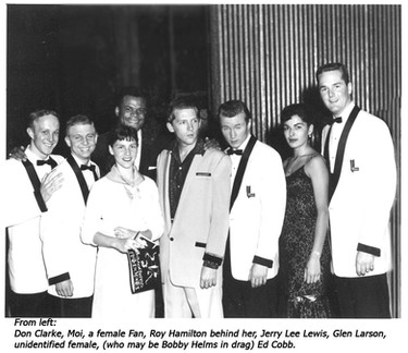 With Jerry Lee Lewis on catastrophic bus tour 1958.jpg