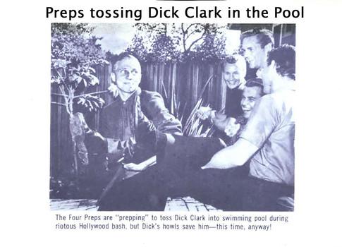 Dick Clark- close call at pool 1961.jpg