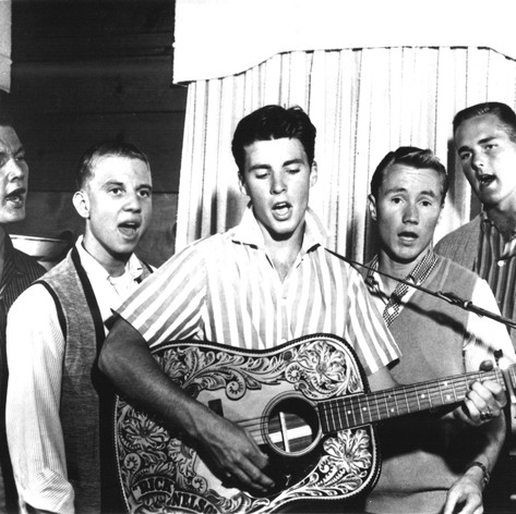 Ricky Nelson with The Four Preps