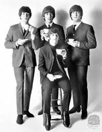 Beatles w/ Teacups