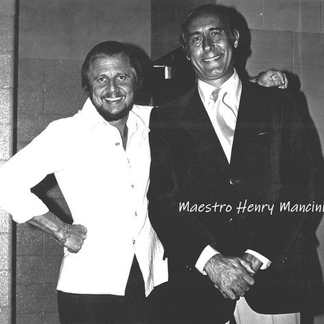 Henry Mancini and Bruce