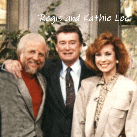 Regis & Kathie Lee with Bruce