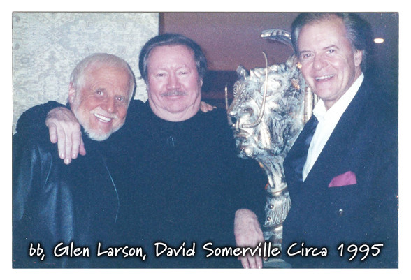 bb, Glen Larson, David Somerville Circa