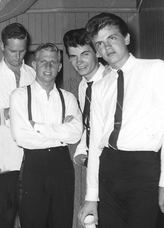Bruce and Ed with Everly Brothers