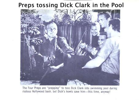 Dick Clark into the Pool