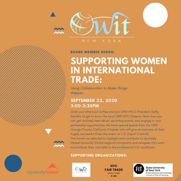 Board Member Series: Supporting Women in International Trade