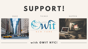 SUPPORT! Make Things Happen with OWIT NYC