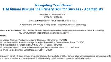 Talking Trade @ FIT: Navigating Your Career