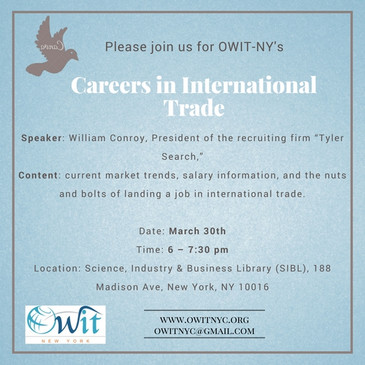 Careers in International Trade