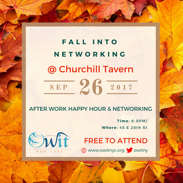 Fall Into Networking w/ OWIT-NY