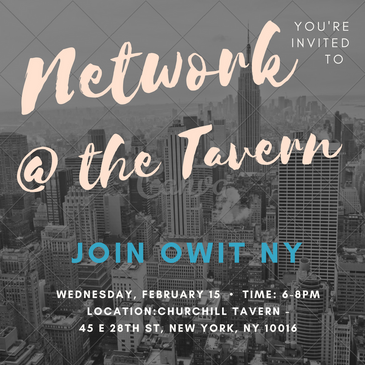 Network @ the Tavern