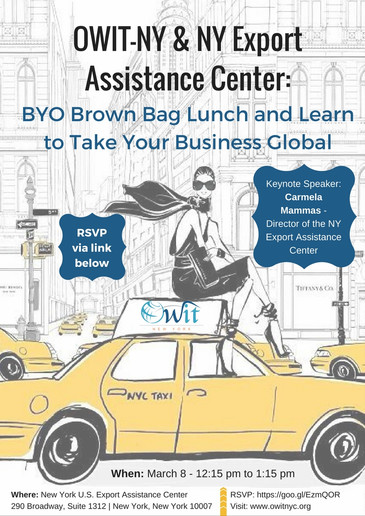 OWIT-NY: BYO Brown Bag Lunch and Learn to Take Your Business Global