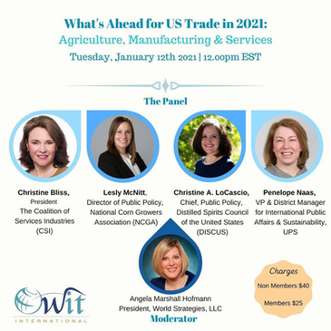 OWIT International Webinar: What's Ahead for US Trade in 2021