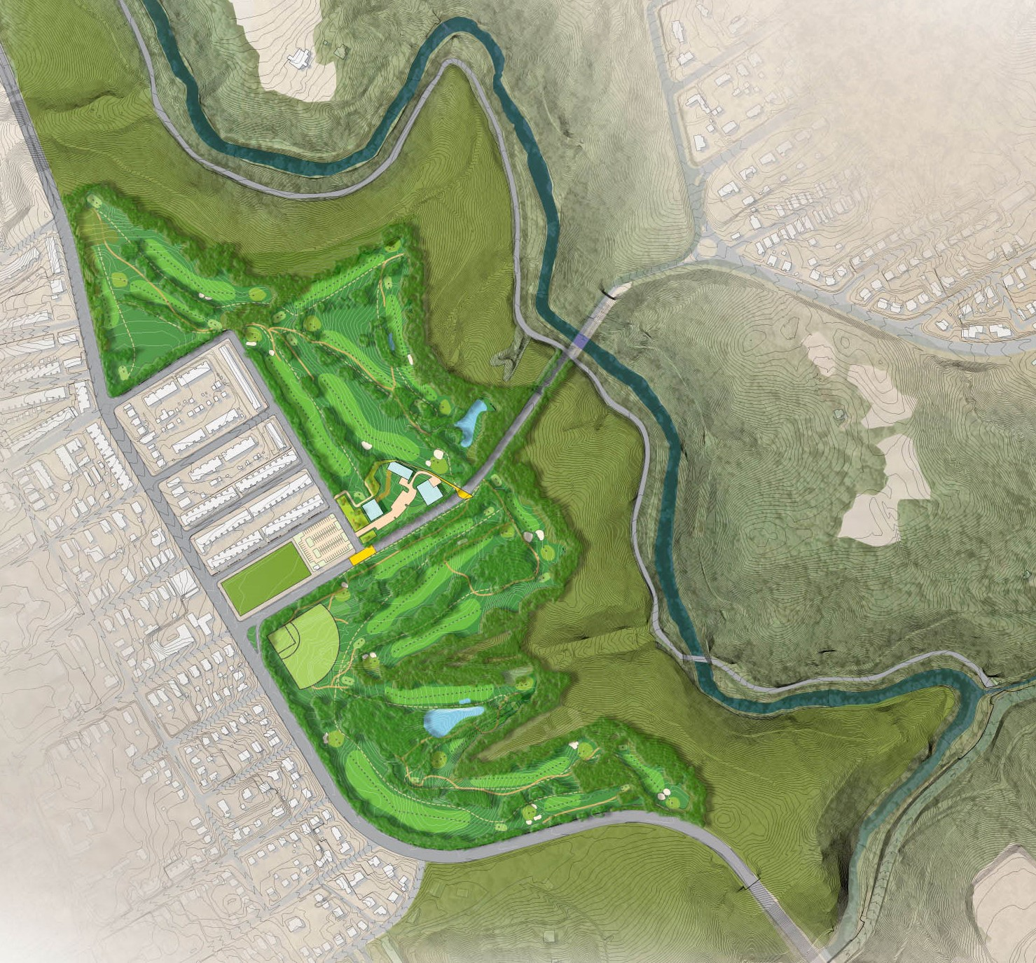 Walnut Lane Golf Course & Park Study