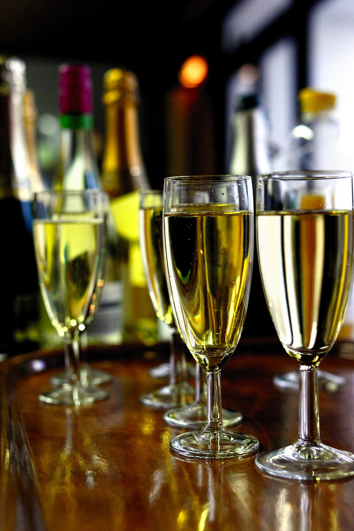 New Year's Eve Champagne Toast