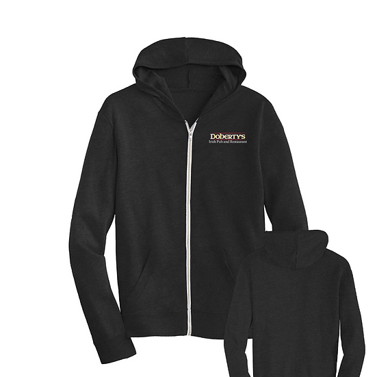 Doherty's Eco-Jersey Men's Zip-Up Hoodie