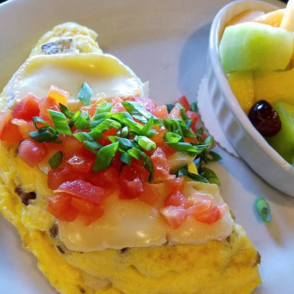 The Veggie Omelet