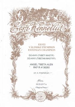 Чемпион Эстонии